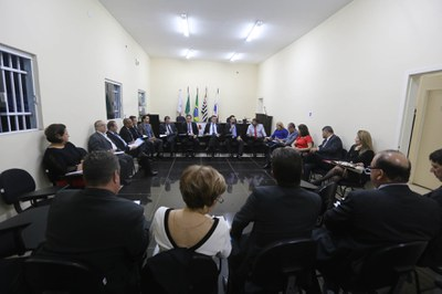 Reunião de Presidentes do Fórum do Alto Tietê