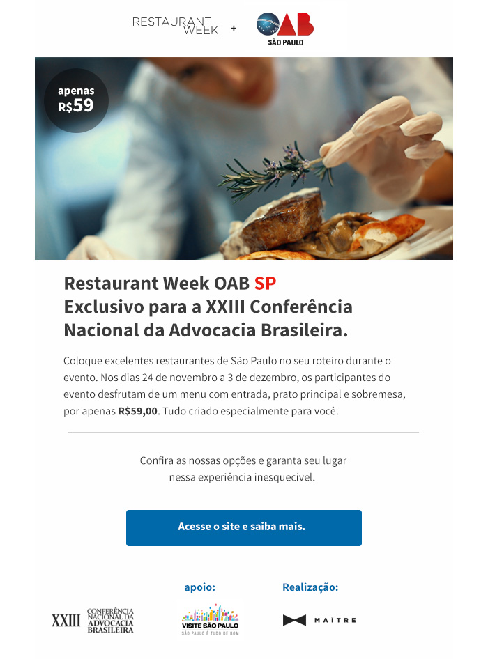 Restaurant week resposta
